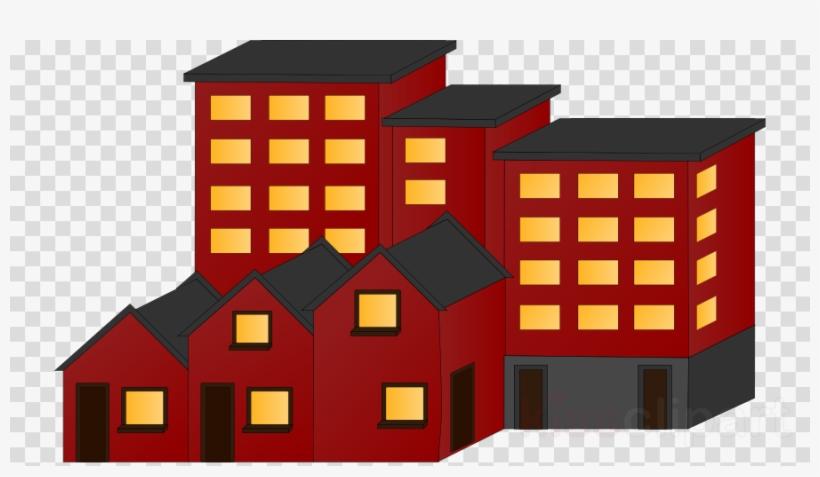 Flat Building Clipart Apartment Building Clip Art.
