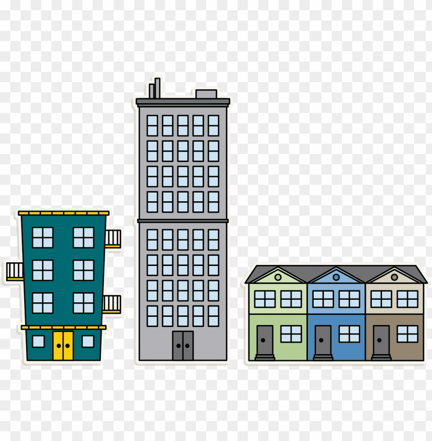 apartment building png download.