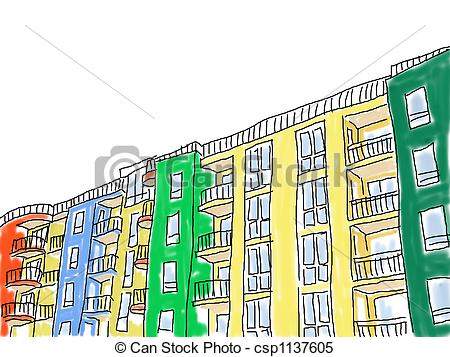 Apartment block Illustrations and Clipart. 2,764 Apartment block.