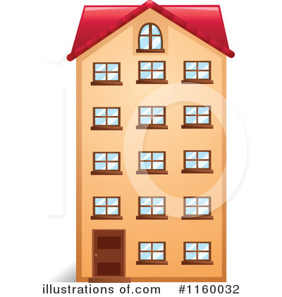 Apartment clipart.