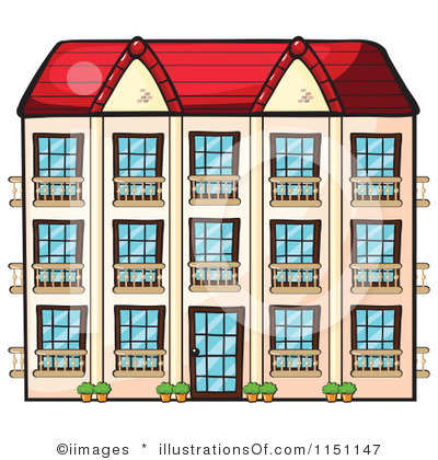 Apartment Blocks Clipart Clipground