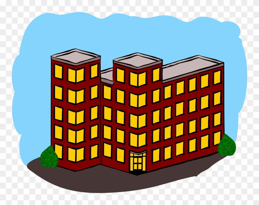 Clipart Switched Towerflats House Outline Svg Pixar.