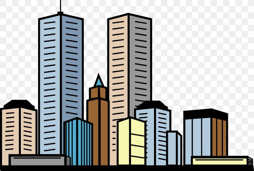 Building Skyscraper Apartment Clip Art, PNG, 1979x1330px.