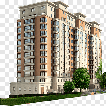 Apartment Building cutout PNG & clipart images.