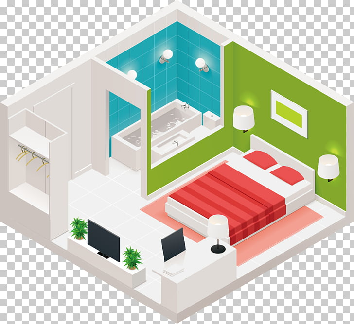 Living room Hotel Icon, small apartment Design PNG clipart.