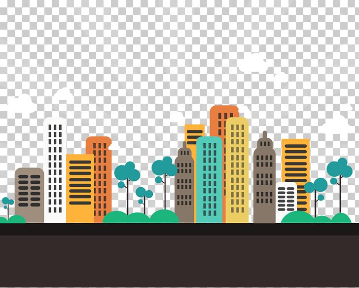Gandhinagar Abstract City Apartment Flat design, city.