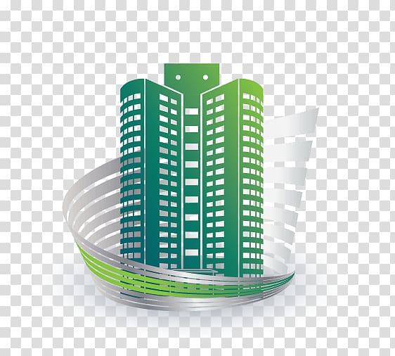 Real Estate Logo Building Apartment, design transparent.