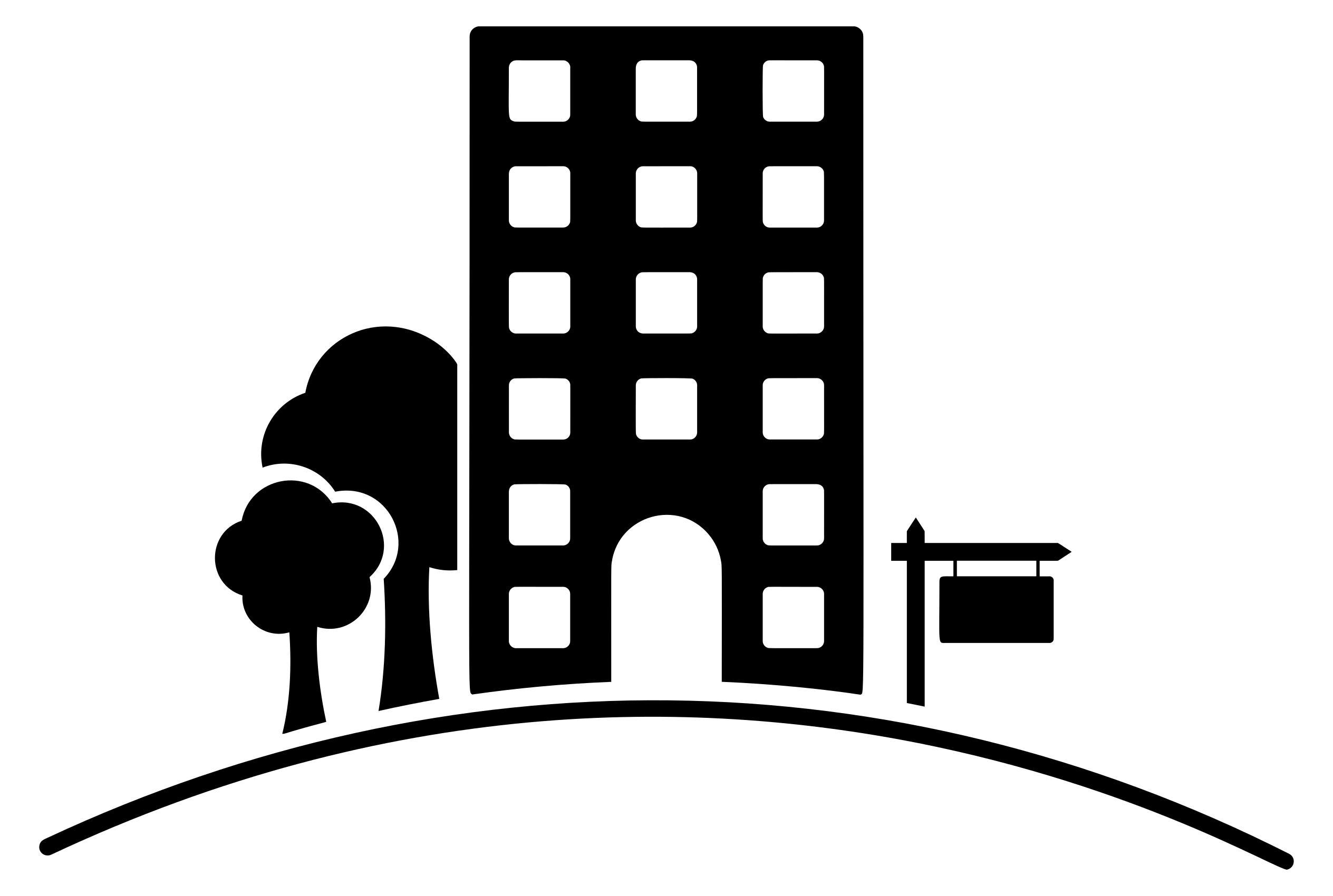 Apartment clipart building design, Apartment building design.