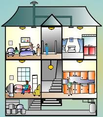 Image result for inside apartment clipart.
