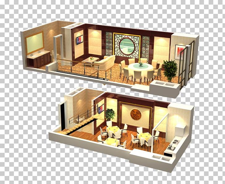 Interior Design Services 3D computer graphics, LOFT.