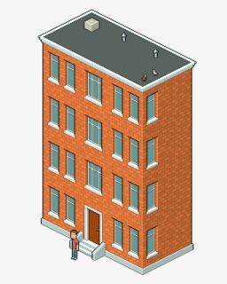 Free Apartment Building Clip Art with No Background.