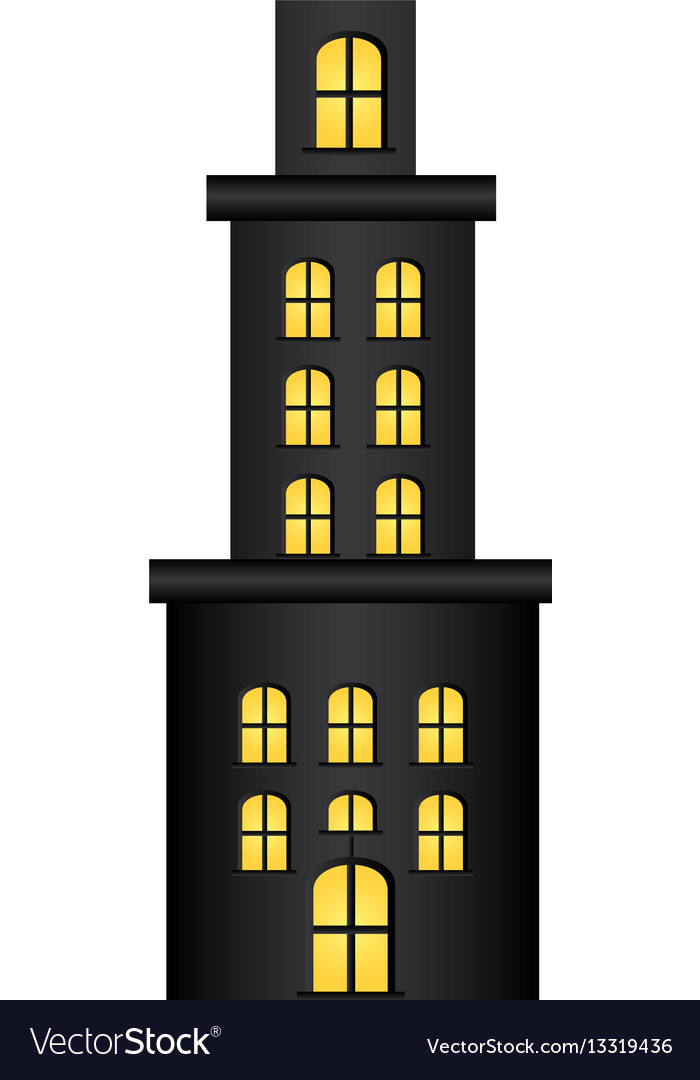 Apartment residence with several floors.