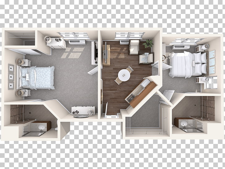 Bed Bath & Beyond Floor plan Apartment Assisted living Home.