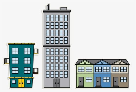 Free Apartment Clip Art with No Background.