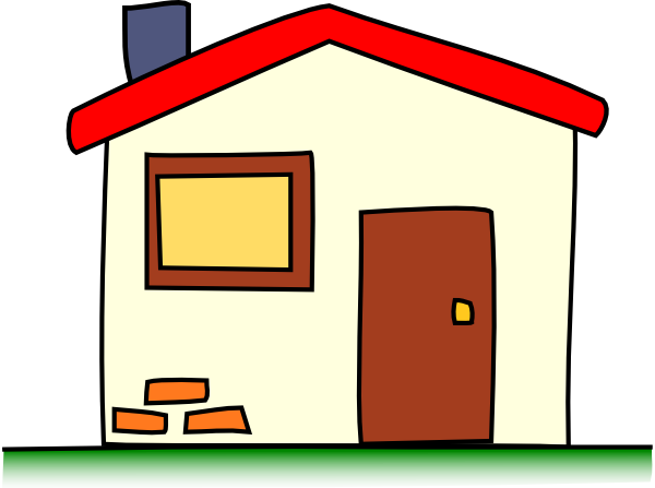 Clipart Houses Apartments.