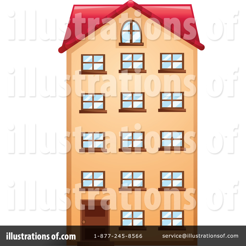 House For Rent Clip Art: Apartment House Clipart 20 Free Cliparts