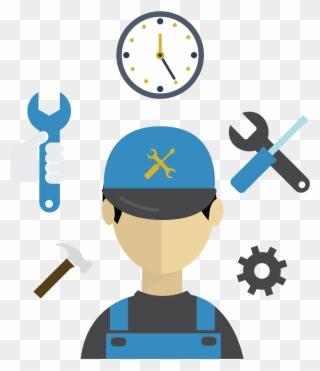 Free PNG Maintenance Clip Art Download.