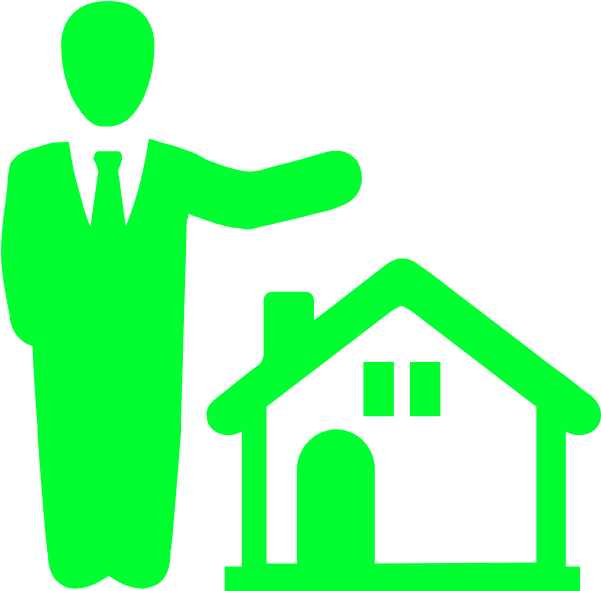 Real Estate Clipart Property Manager.
