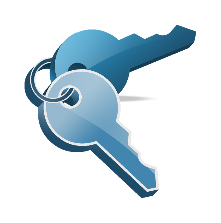Keys clipart property management, Keys property management.