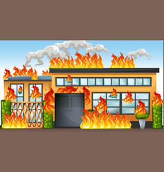 Building Fire Clipart Vector Images (99).