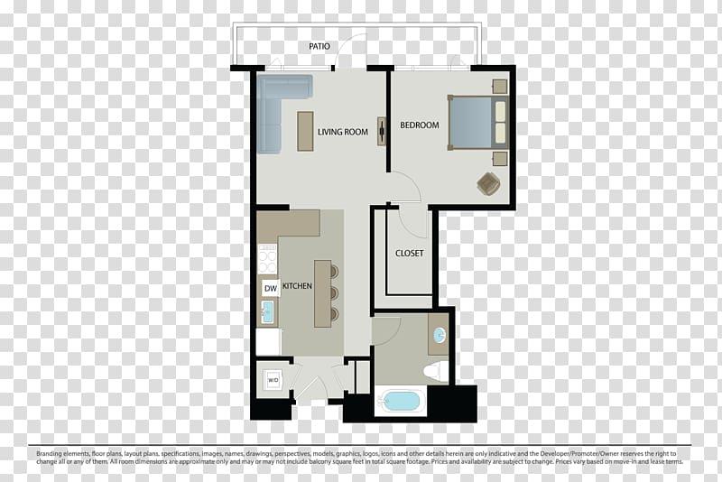 Mosso Floor plan Apartment, apartment transparent background.