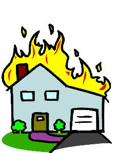 Fire safety booklet clip art 3.
