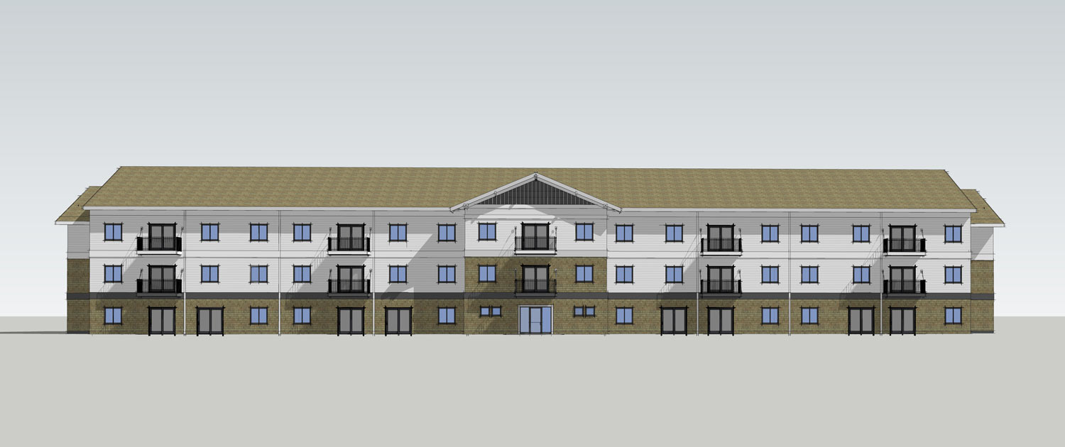 Ground Breaking for Hillcrest Apartments and Townhomes.