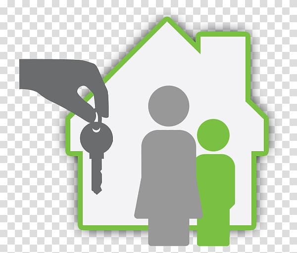 Landlord House Property management Real Estate, calling card.