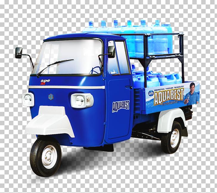 Motor vehicle Car Auto rickshaw Piaggio Van, vespa ape PNG.