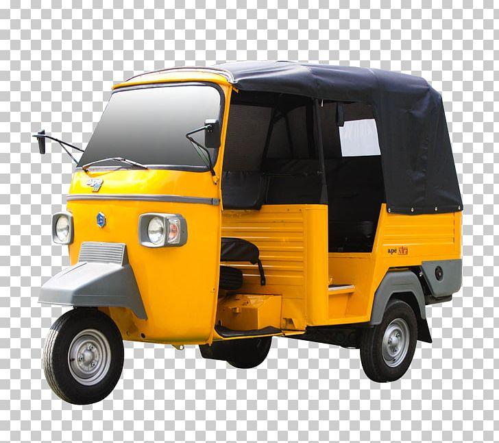 Piaggio Ape Auto Rickshaw Car Bajaj Auto PNG, Clipart, Automotive.