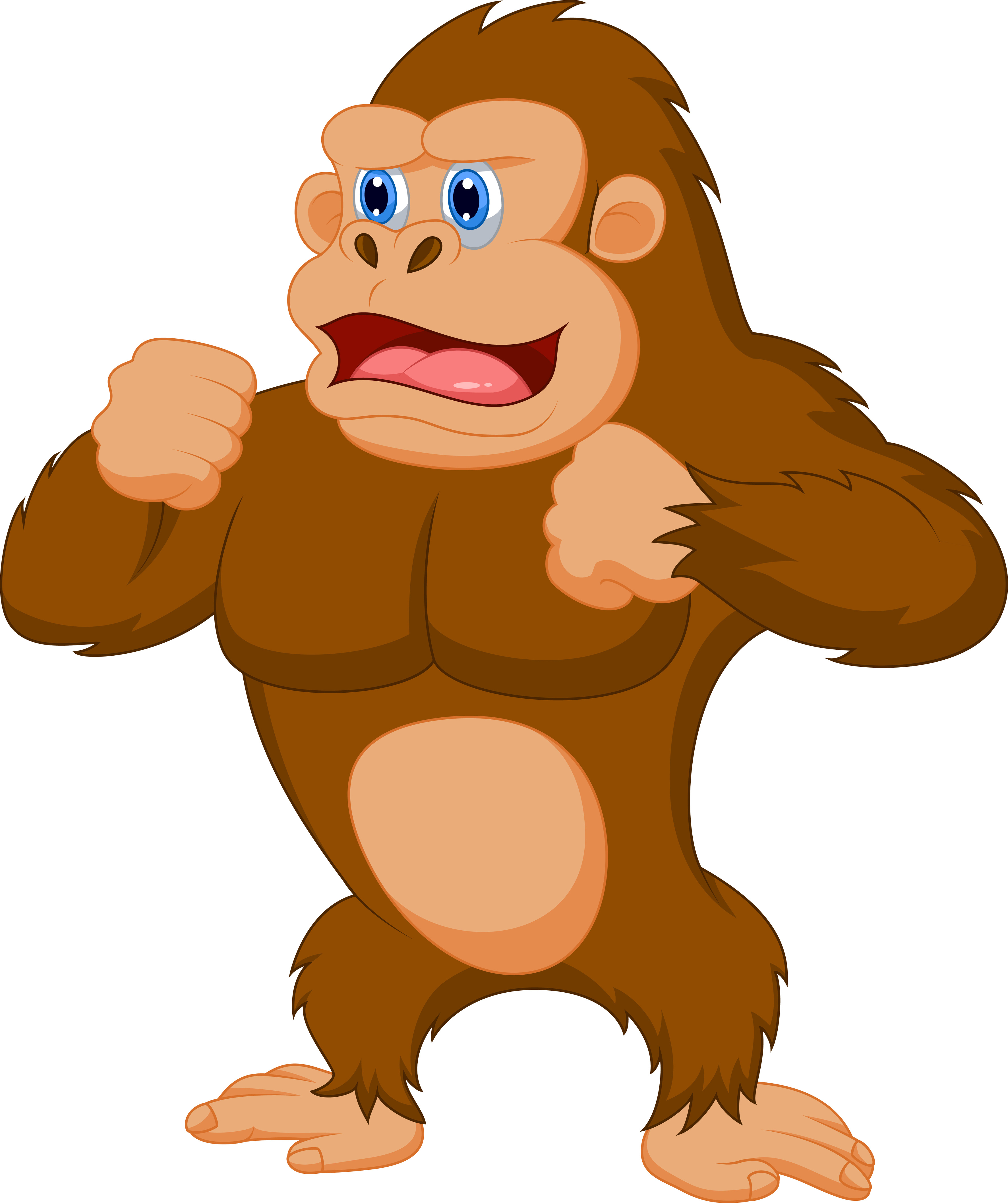 Ape Clipart for free.