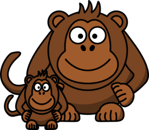Ape Clipart.