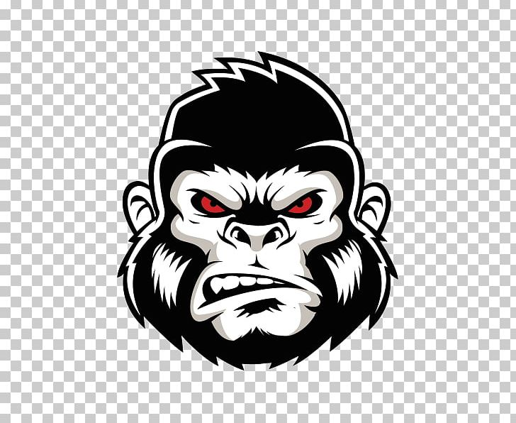 Gorilla Logo PNG, Clipart, Angry Gorilla, Animals, Crossfit.