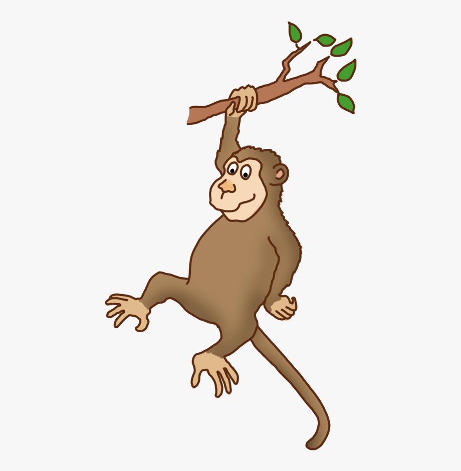 Ape Clipart Monkey Tail.