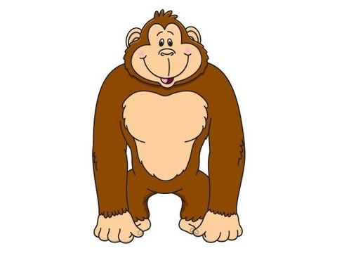 Ape clipart brown, Ape brown Transparent FREE for download.