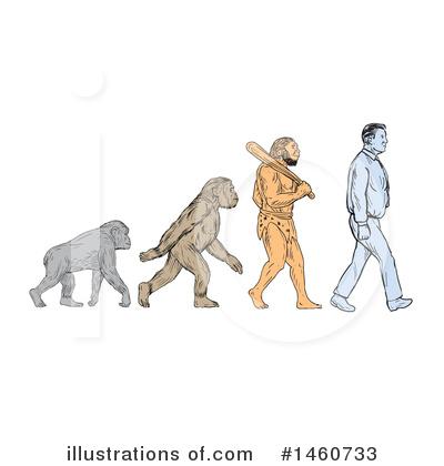 Evolution Clipart #1460733.