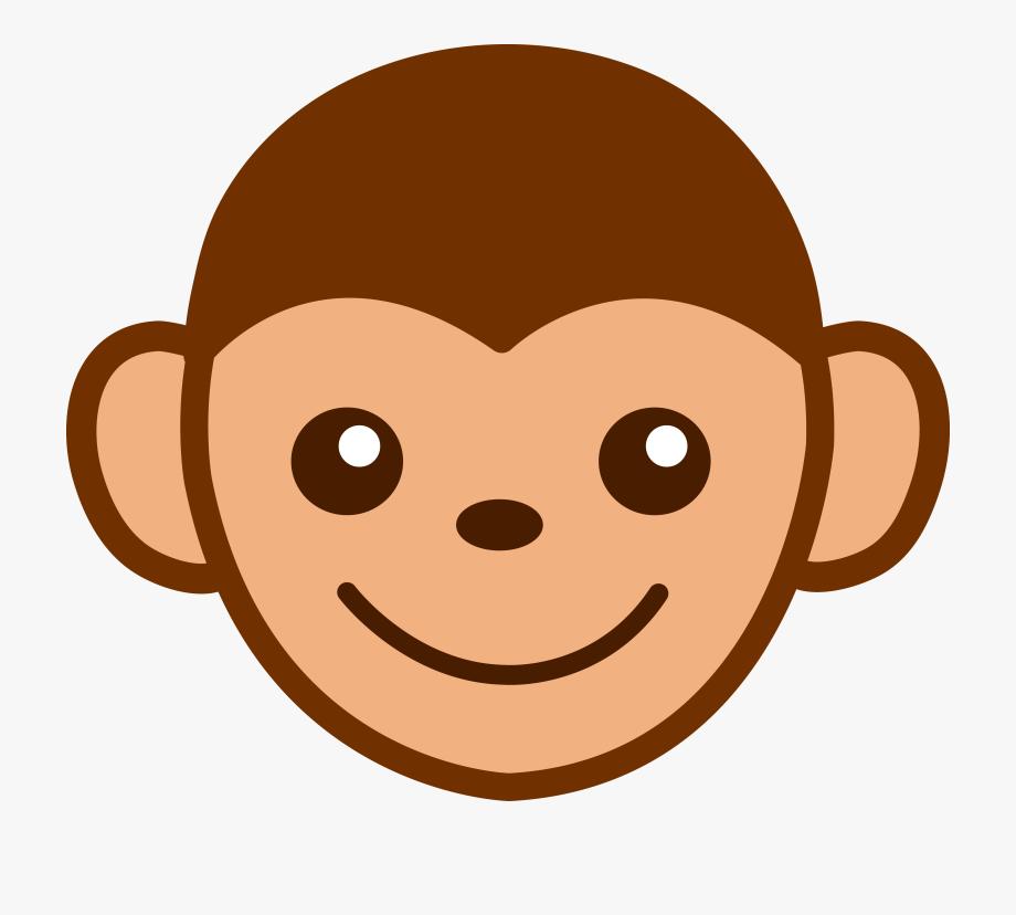 Monkey Face Clipart , Transparent Cartoon, Free Cliparts.