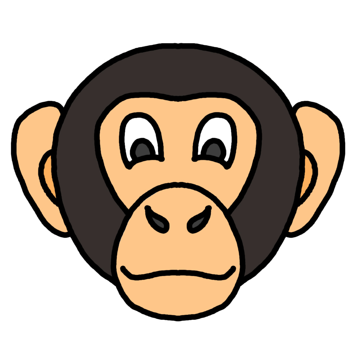 Free Monkey Face Clipart, Download Free Clip Art, Free Clip.