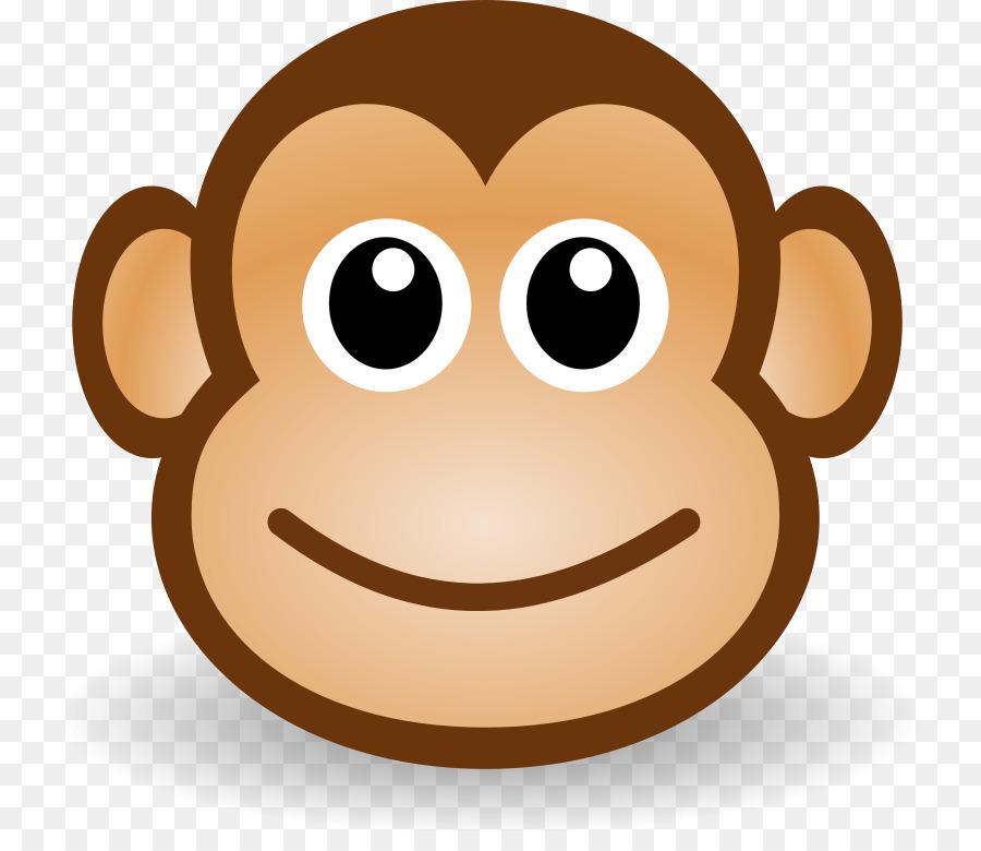 Monkey Cartoon clipart.