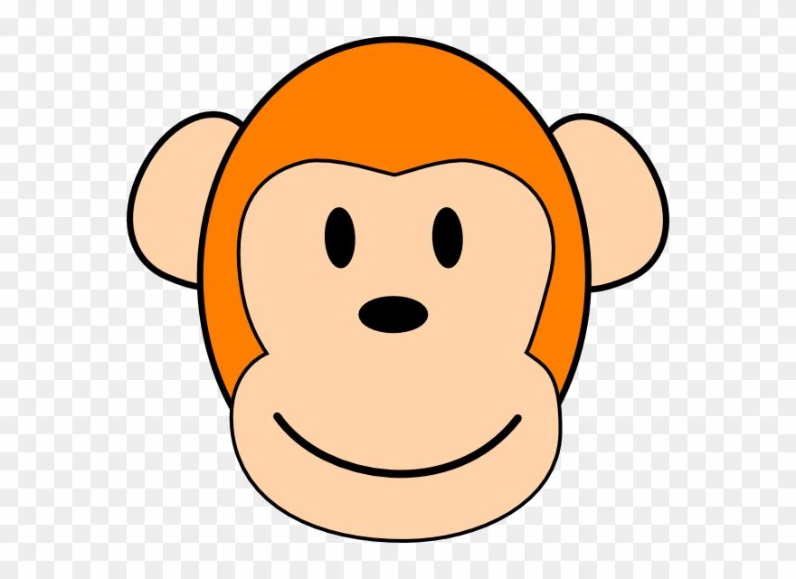 Orange Monkey Clip Art At Clkercom Vector Online Royalty.