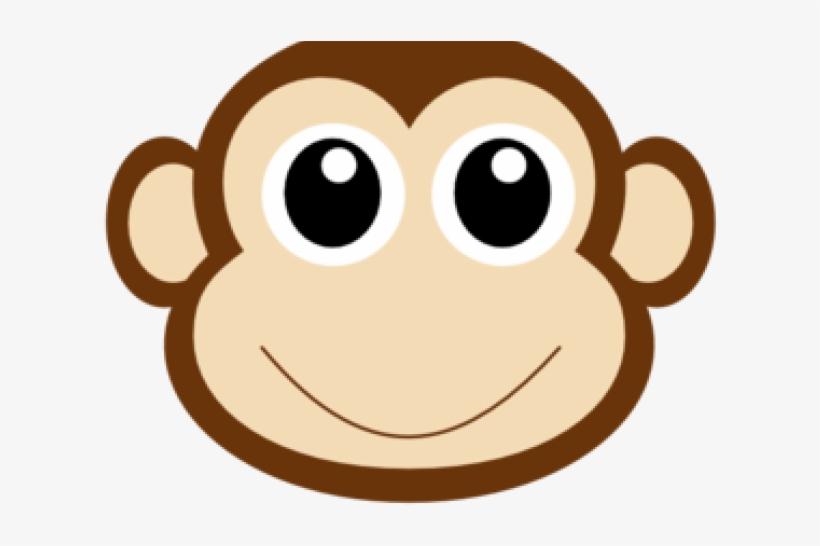 Monkey Head Clip Art.