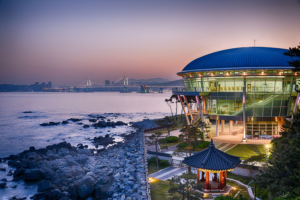 Nurimaru APEC House, South Korea 2019.