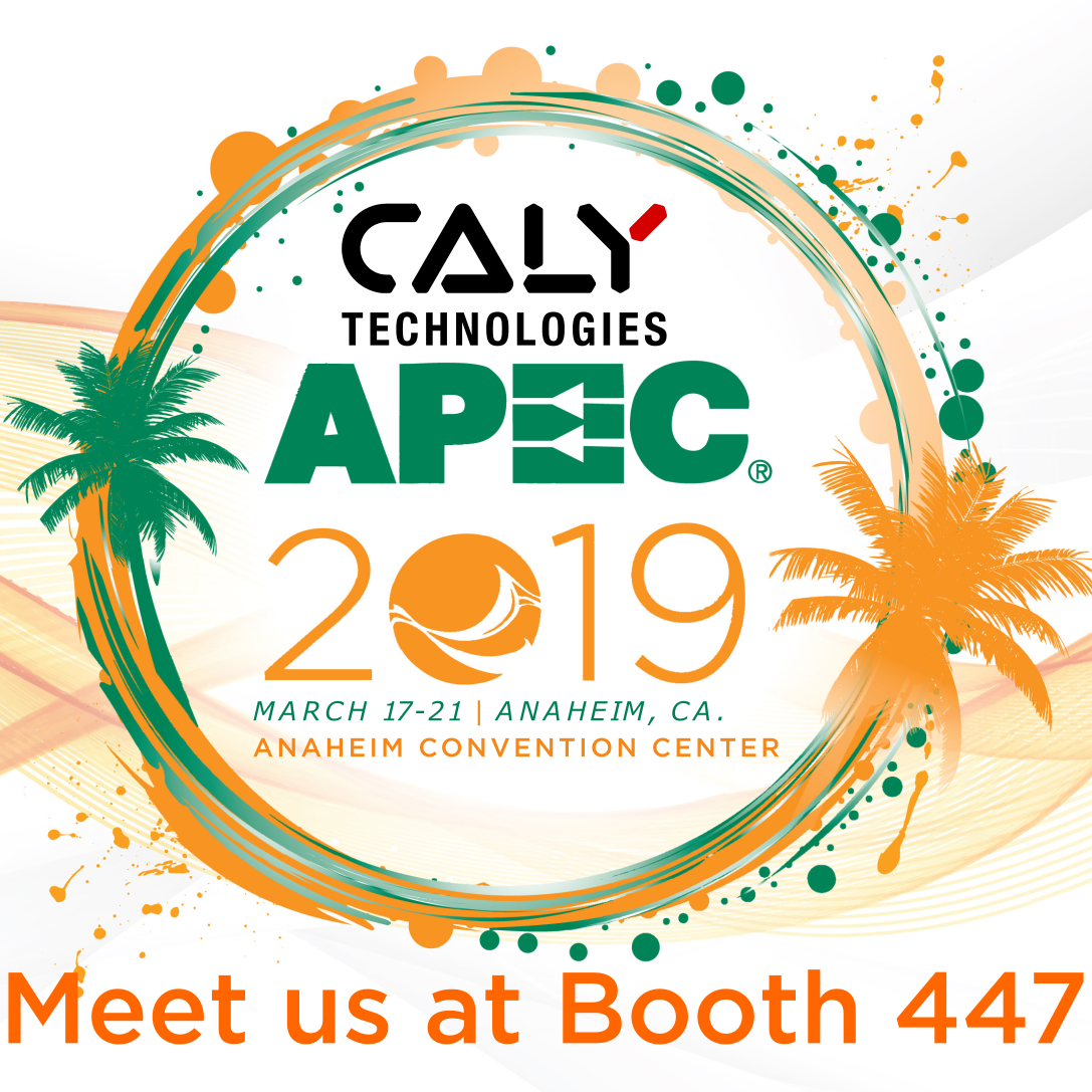 CALY Technologies at APEC 2019, Anaheim, March 17.