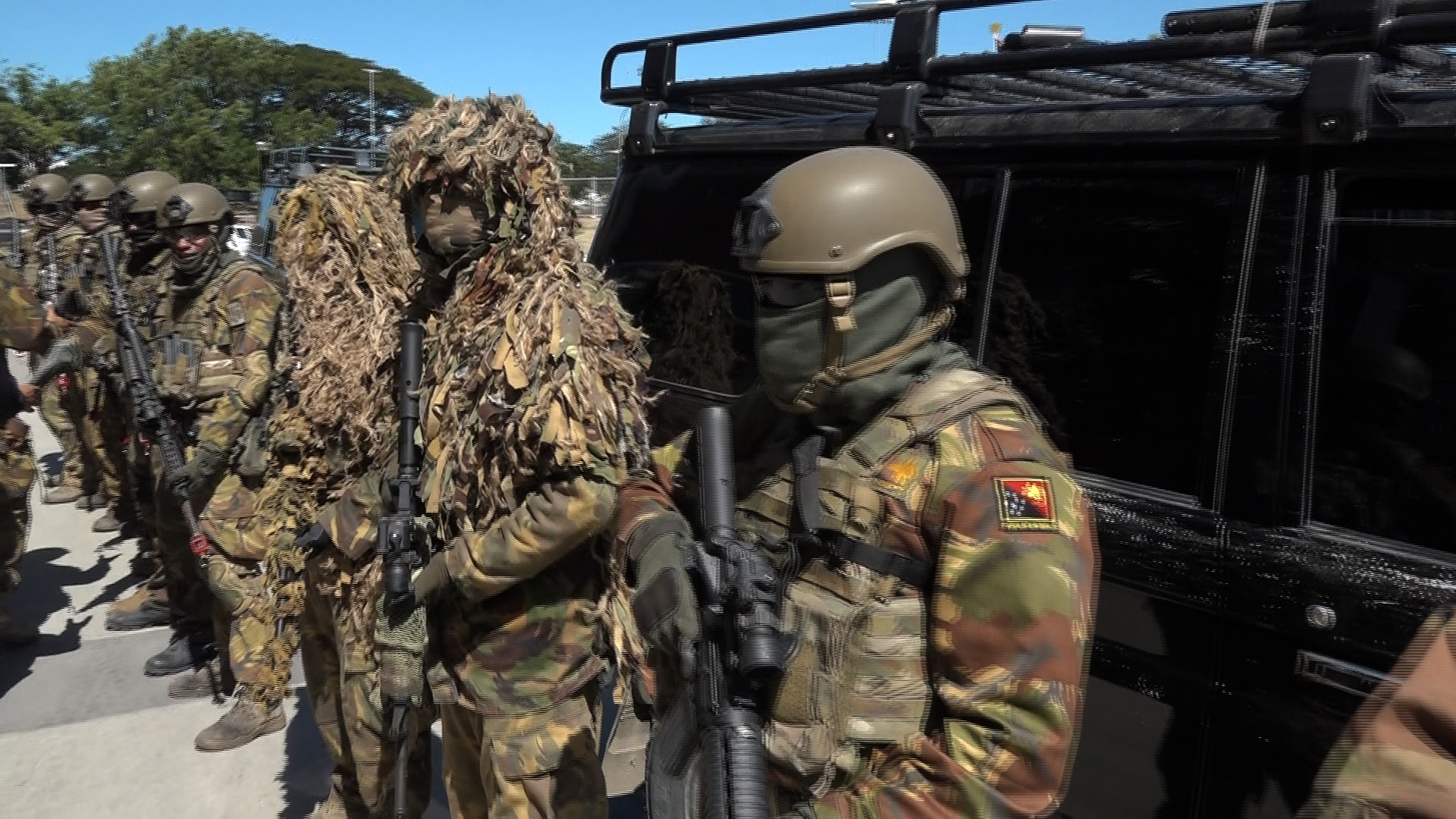 PNG Defence Special Force Prepare for 2018 APEC Summit.