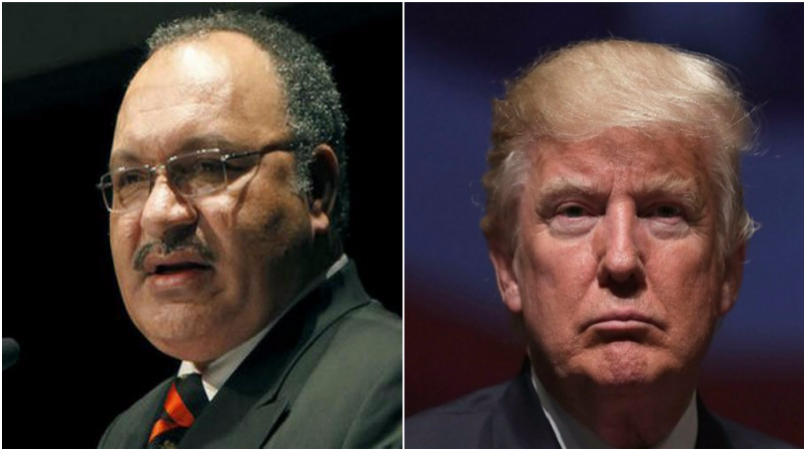 O'Neill invites Trump to APEC PNG 2018.