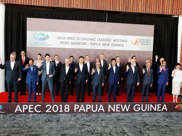 Divided APEC leaders battle for unity after US, China trade war.