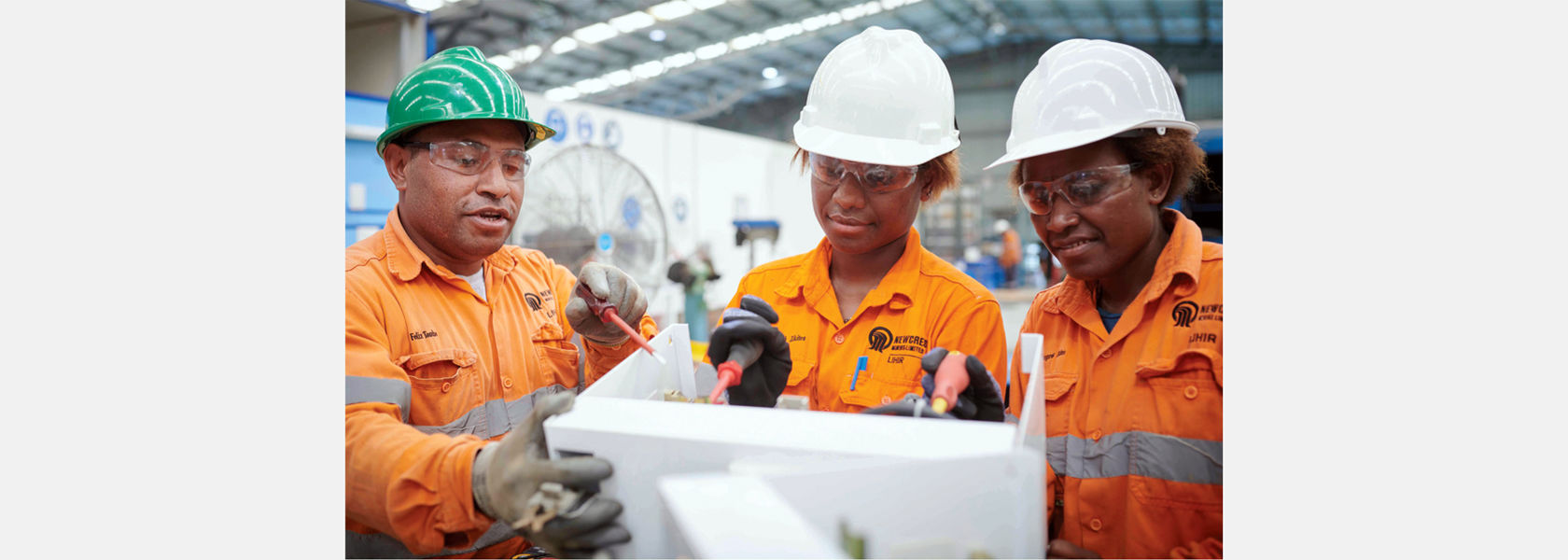 Newcrest stands with PNG through its APEC year.