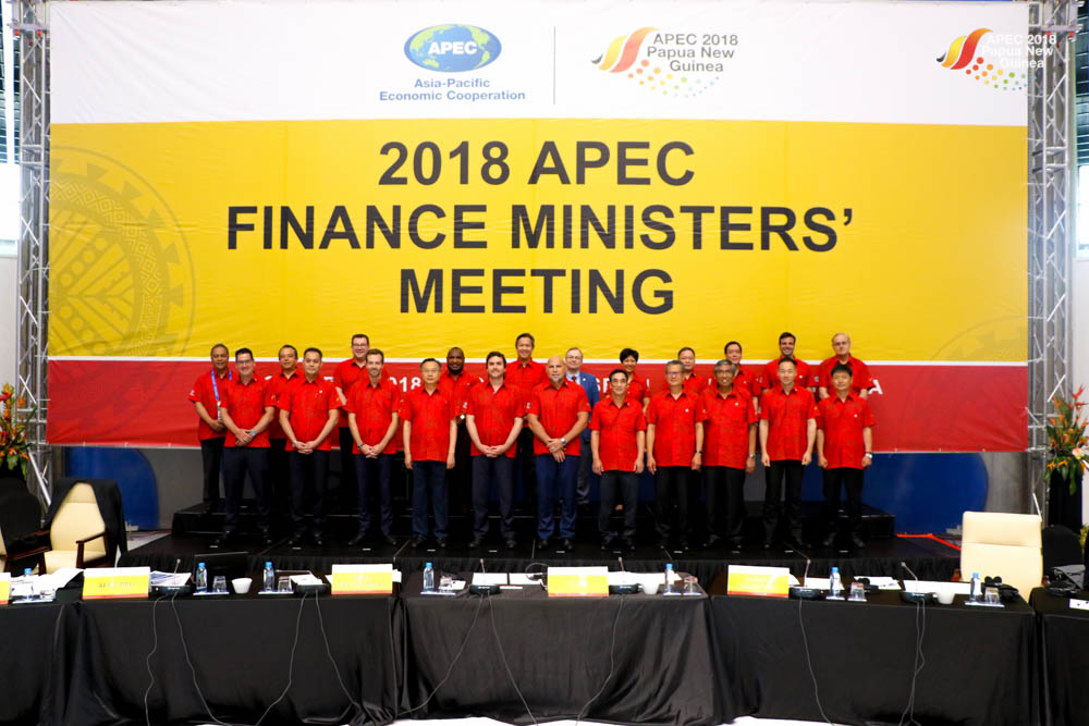 2018 APEC Finance Ministers' Meeting.