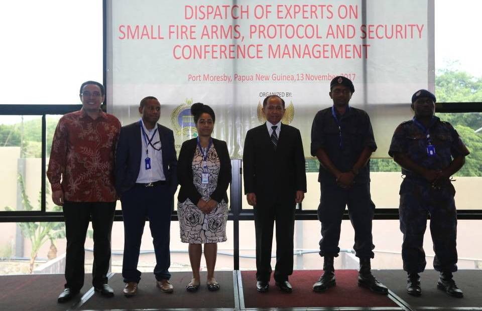 Indonesia Begins Training PNG Officials to Prepare for Next Year's.