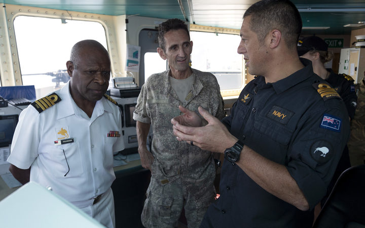 NZ Defence Force in PNG to support massive APEC security op.
